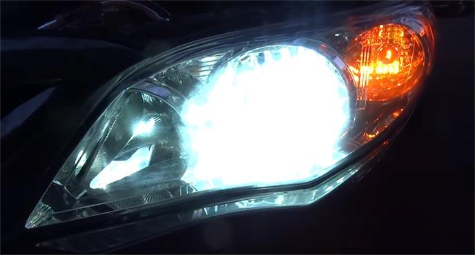 明るくて省電力のHIDライト