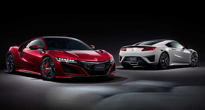 日本が誇るスポーツカーホンダNSX