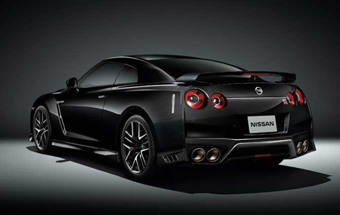 日産GT-Rのブラックエディションモデル