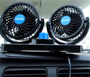 暑い車内が快適になる扇風機