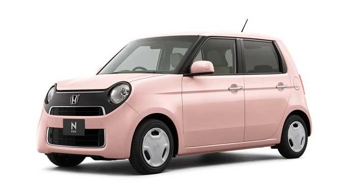 ピンクがキュートなN-ONE