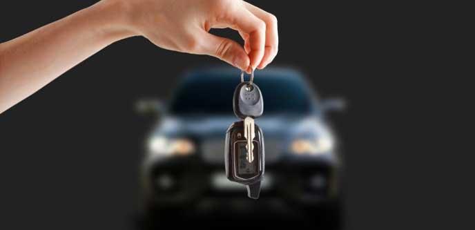 閉め忘れに注意したい自動車の鍵