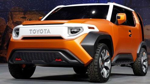 FT-4X トヨタ新型コンパクトSUVの可能性があるコンセプトカーが誕生