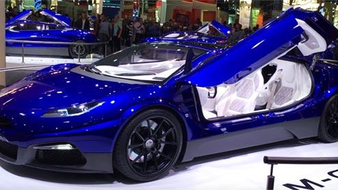 GLM G4日本初披露!京都発国産EVスポーツカーの価格は4,000万