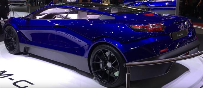 量産へ向けて走る電気自動車GLM G4