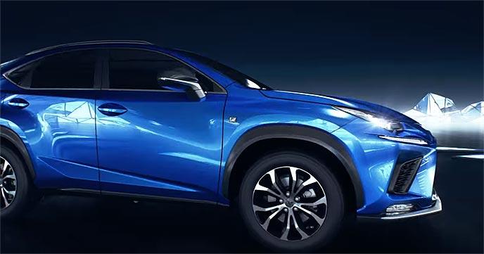 レクサス新型NXのフロントグリル