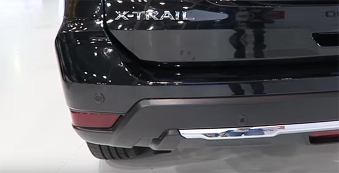 2017年の上海モーターショーに出品された新型エクストレイル