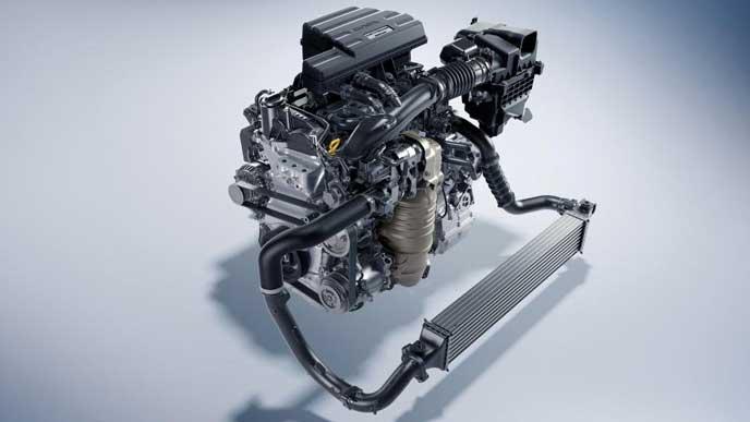 新型CR-Vのパワーユニット