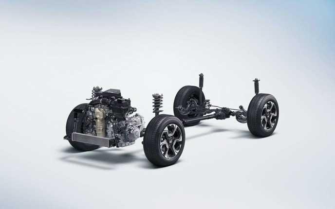 新型CR-Vに搭載されたサスペンション