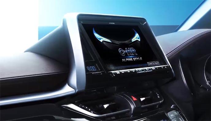 車種専用カーナビビッグXの取り付け車