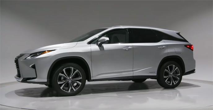 レクサス新型RX ロングバージョンのエクステリア