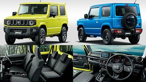 新型ジムニー モデルチェンジ!装備・価格・内外装・実車の写真も紹介