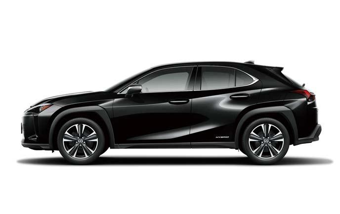 ブラックの新型UX