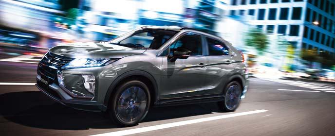 エクリプスクロス特別仕様車「ブラックエディション」のエクステリア