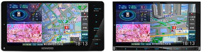 ケンウッド新型彩速ナビMDV-M906HDWとMDV-M906HD