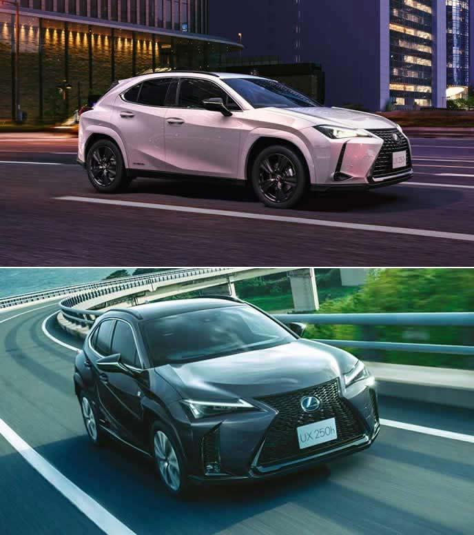 2021年に追加したUXの2つの特別仕様車