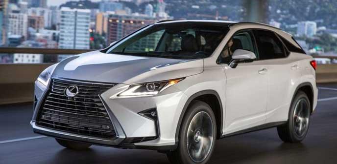 2017年秋に発売予定の新型レクサスRX
