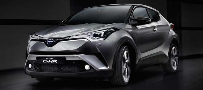2017年4月新車販売台数No.1を獲得したトヨタC-HR