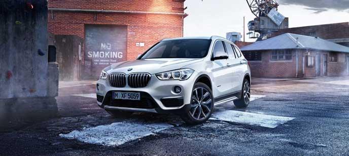 BMW・X1のエクステリア