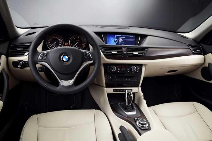 BMW・X1のインテリア