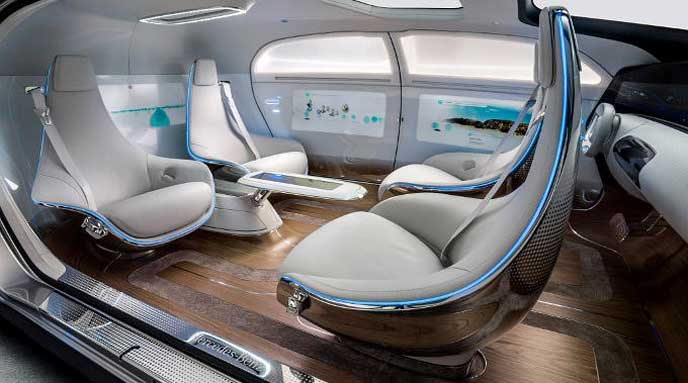 Luxury in motionのインテリア