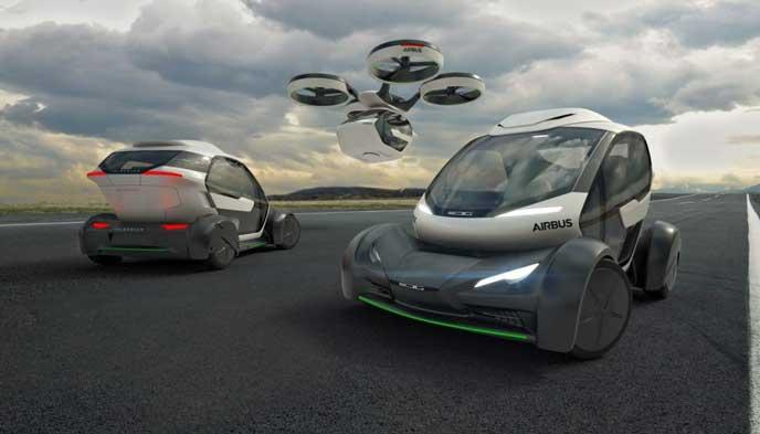 未来の車のイメージ