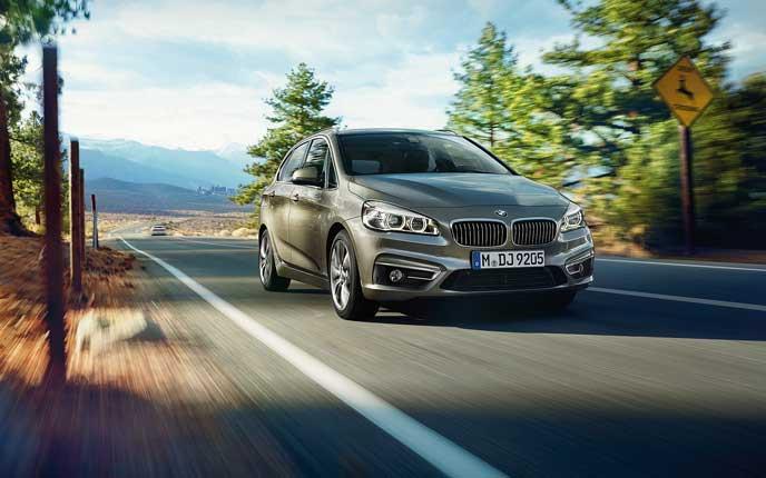 BMW2シリーズのエクステリア