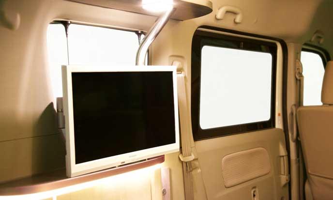ルネッタの車載テレビ