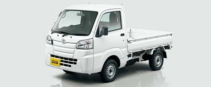 トヨタ・ピクシストラックのエクステリア