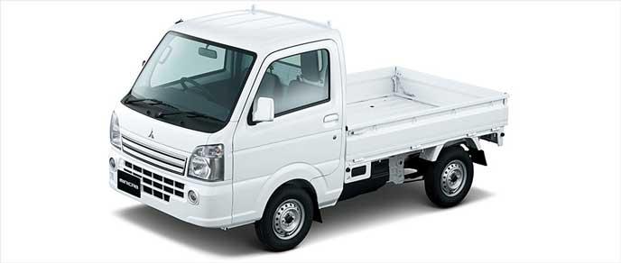 三菱・ミニキャブトラックのエクステリア