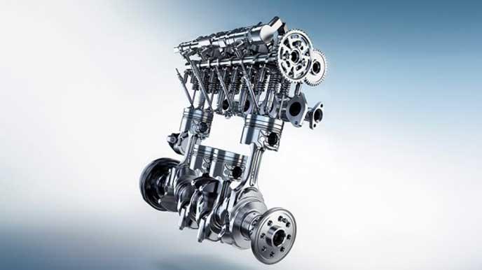 BMWX1のエンジン