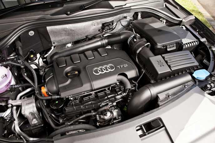 アウディQ3のエンジン