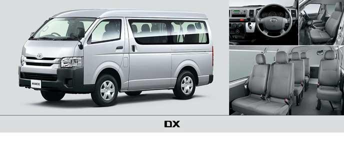 ハイエースワゴンDXのエクステリア