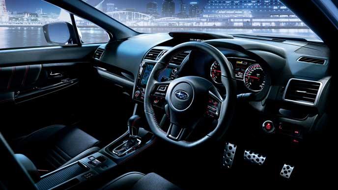 新型WRX S4の内装