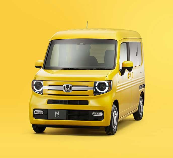 2018年7月13日に発売の新型N-VAN