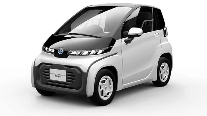 トヨタが発表した超小型EVのエクステリア