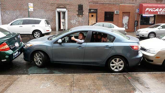 縦列駐車を得意とするドライバー