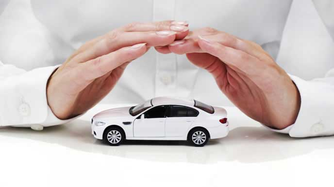 車を守る手