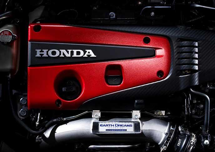 新型シビックタイプRのエンジン
