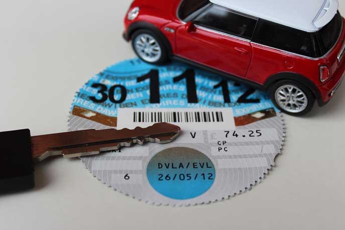 自動車税のイメージ
