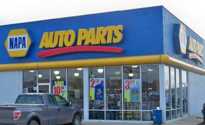 車のグッズを販売するカーショップ