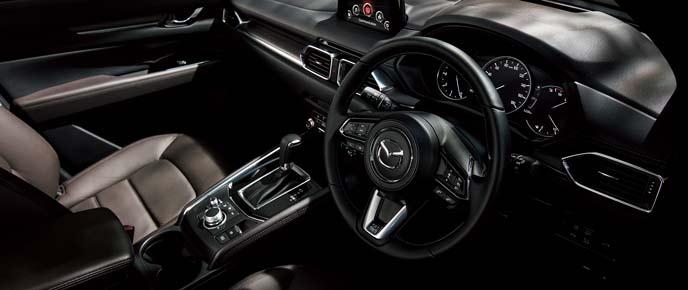 CX-5特別仕様車Exclusive Modeの内装