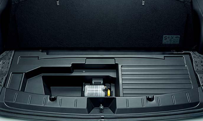 スバルXVアドバンスのサブトランク