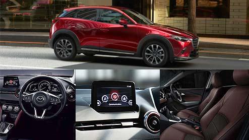 新型CX-3の内装をグレード別に徹底比較 本革を使い気遣いができる美しいデザイン