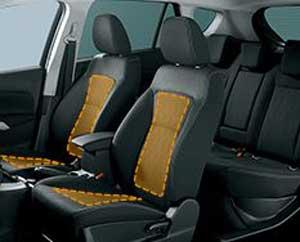 新型SX4のシートヒーター