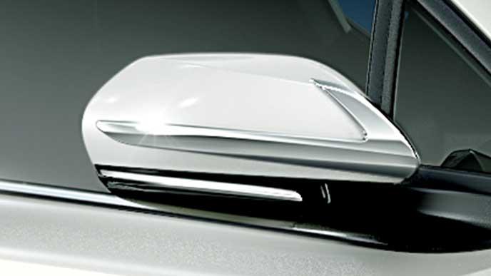 C-HRのモデリスタ エレガントアイススタイルのミラーガーニッシュ
