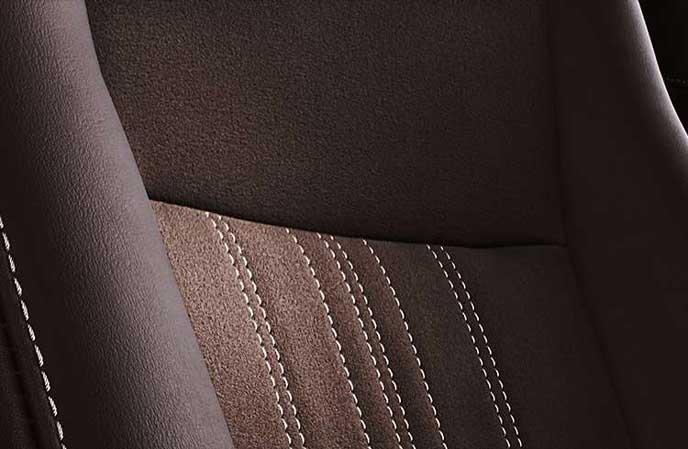 新型エスクァイアのブランノーブ・合成皮革×バーガンディ・ブラック表皮