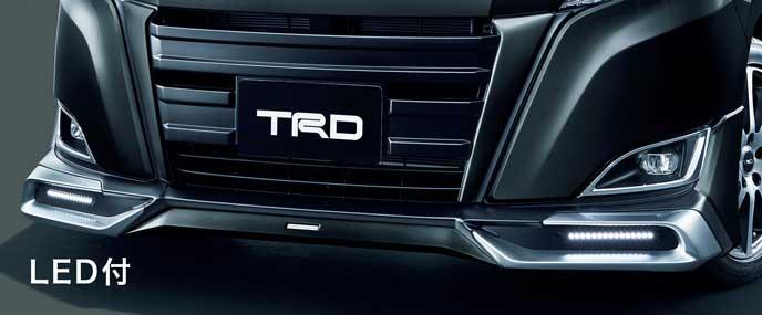 TRD for HYBRID G、HYBRID X、G、Xのフロントスポイラー