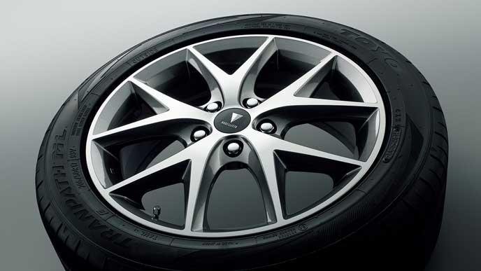 モデリスタ for HYBRID V・HYBRID X・V・Xの17インチアルミホイール・タイヤセット