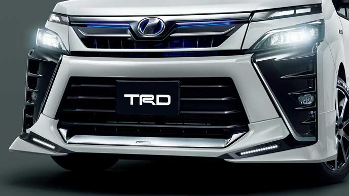 TRD for HYBRID ZS・ZSのフロントスポイラー